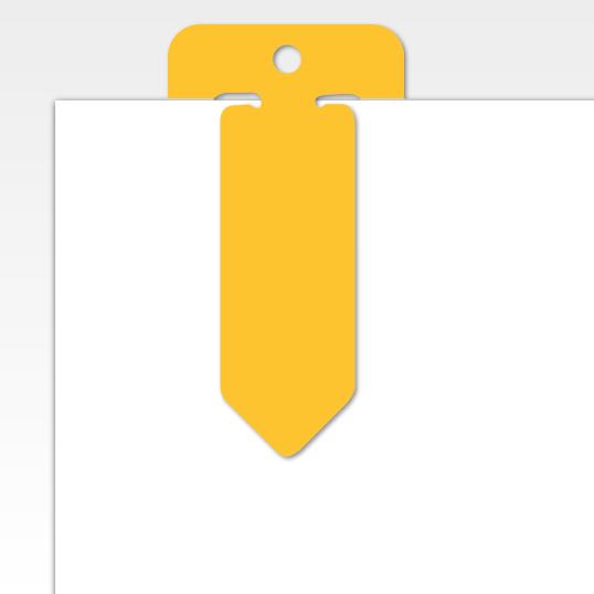 jumbo ad clip geel