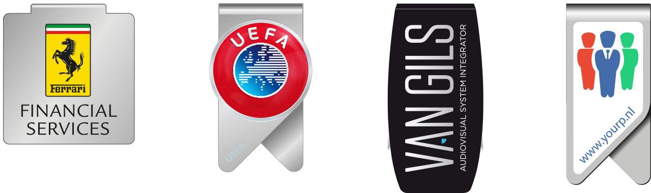 paperclip met logo